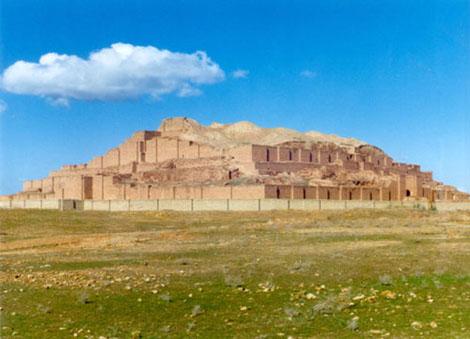 تپههای باستانی چغامیش در جنوب دزفول
