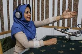 نخستین گزارشگر ورزشی زن در صداوسیما