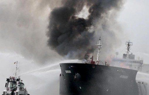 برخورد نفتکش ایرانی با کشتی چینی در سواحل چین / ۳۰ خدمه ایرانی مفقود شدند /۶۰ میلیون دلار نفت سوخت