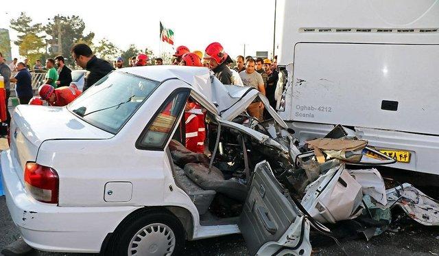 استانهای دارای بیشترین قربانی در حوادث رانندگی نوروزی + نمودار