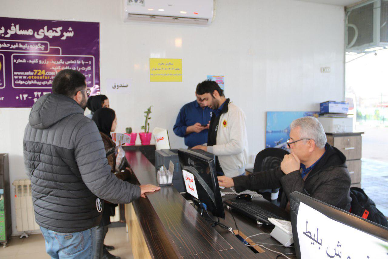 photo 2019 02 26 15 10 11 - پایانه هوشمند مسافربری شهرداری لاهیجان ، آماده میزبانی از مسافران است