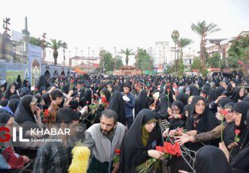 DSC 0107 360x250 - گزارش تصویری تجمع بزرگ بانوان رضوی شهرستان رشت (همایش گوهرشاد)