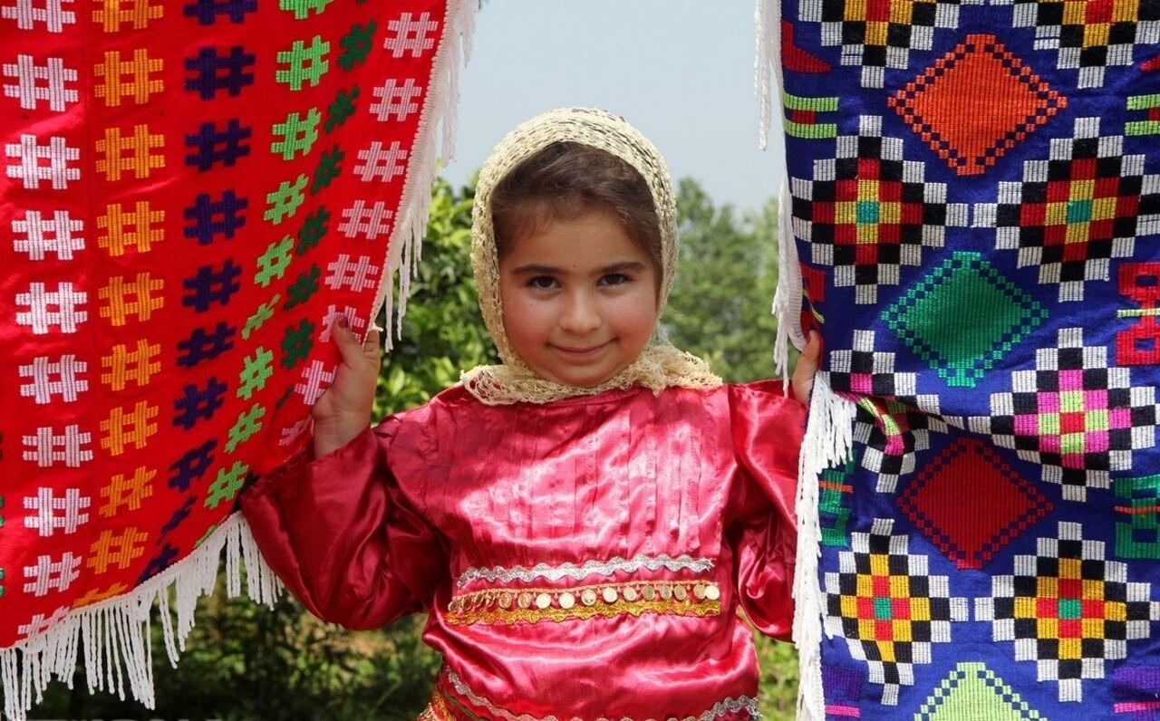 روستای چادرشب بافی گیلان ثبت جهانی شد