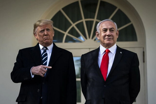 اعلام جزئیات معامله قرن توسط ترامپ/ اهدای بیت المقدس و کرانه باختری به صهیونیست ها و درخواست تشکیل یک کشور «بدون قدرت» فلسطینی