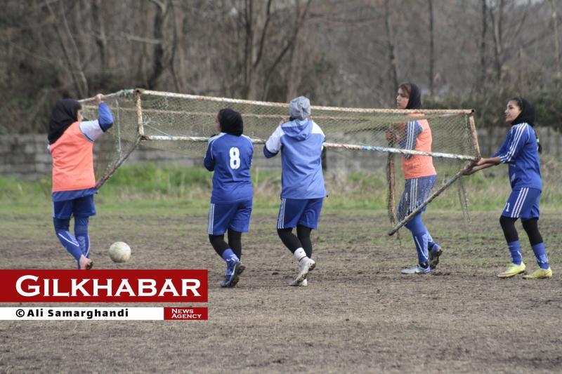 گزارش تصویری تمرین تیم بانوان ملوان قبل از مسابقه با تیم سپاهان
